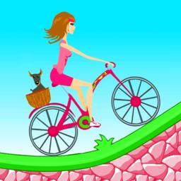 Biker Girl Hill Climb Cycling App Ranking and Store Data.