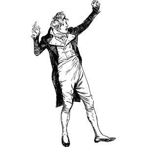 Ranting man clipart, cliparts of Ranting man free download.