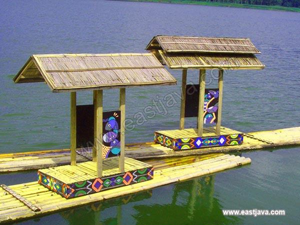 The Raft In Ranu Klakah.