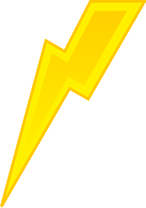 Lightning Clip Art at Clker.com.