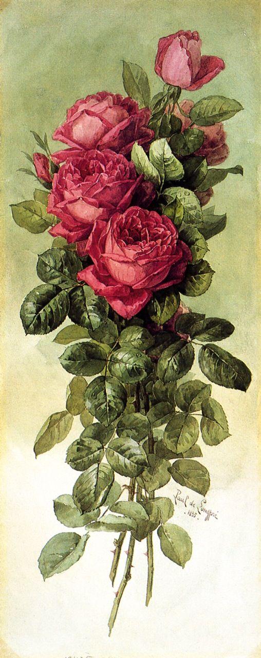 1000+ images about Love art ~ Raoul de Longpre on Pinterest.