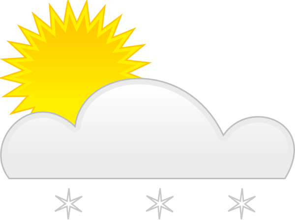 Sun Snow Clip Art at Clker.com.