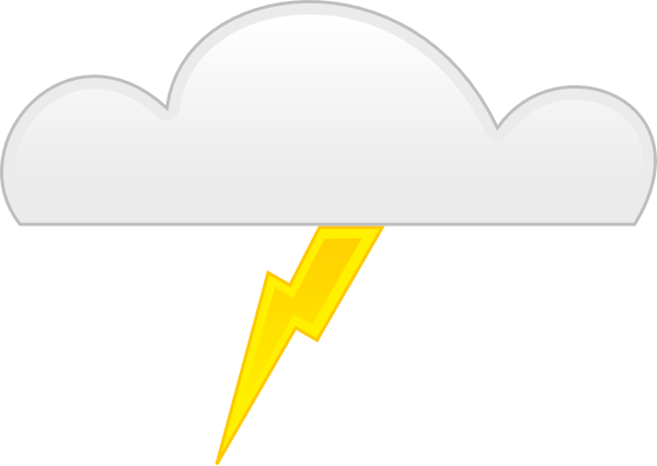 Thunder Clip Art at Clker.com.