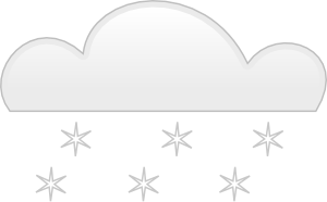 Snowfall Clip Art at Clker.com.