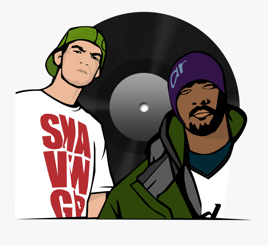 Transparent Hiphop Clipart.