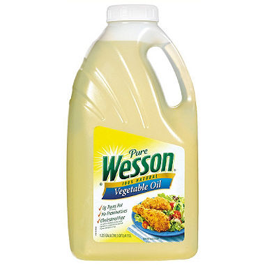 Pure Wesson® Vegetable Oil.