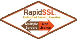 RapidSSL Wildcard Certificate.
