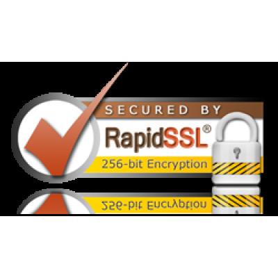 RapidSSL Seal.