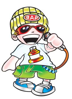 Showing post & media for Cartoon rapper clip art.