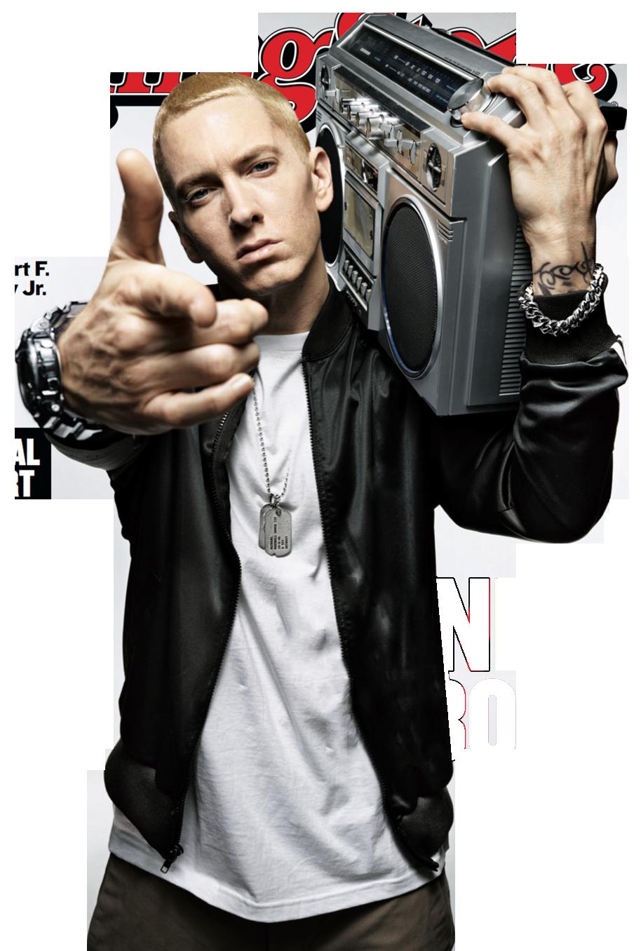 Eminem \'The Rap God\' PNG Transparent Images.