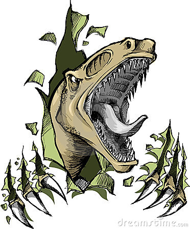 Raptor Stock Illustrations.