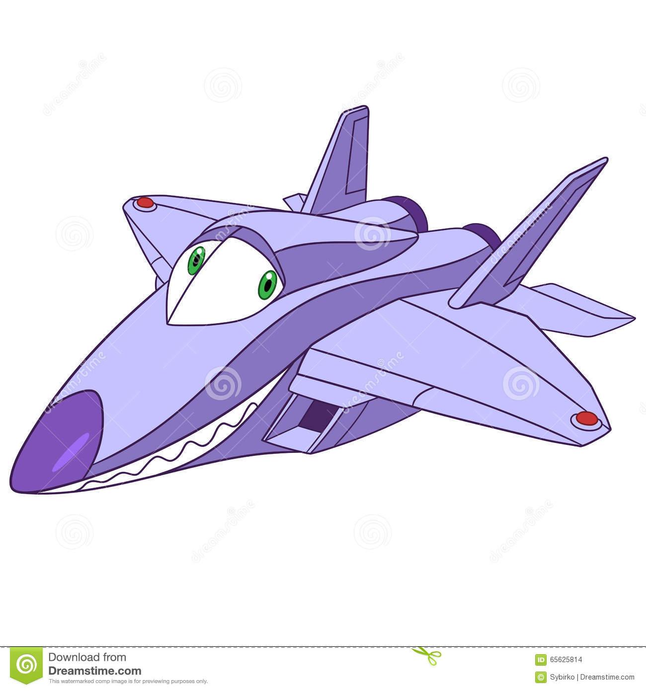 Raptor Plane Clipart.