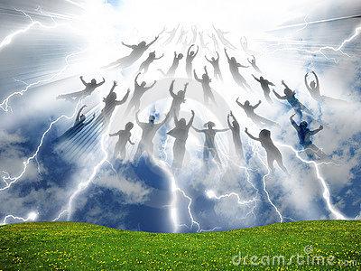 Rapture Stock Illustrations.