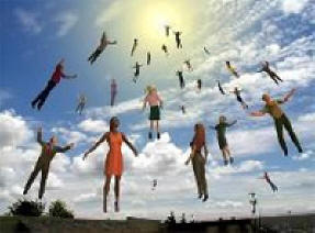 The Rapture of Church Clip Art.