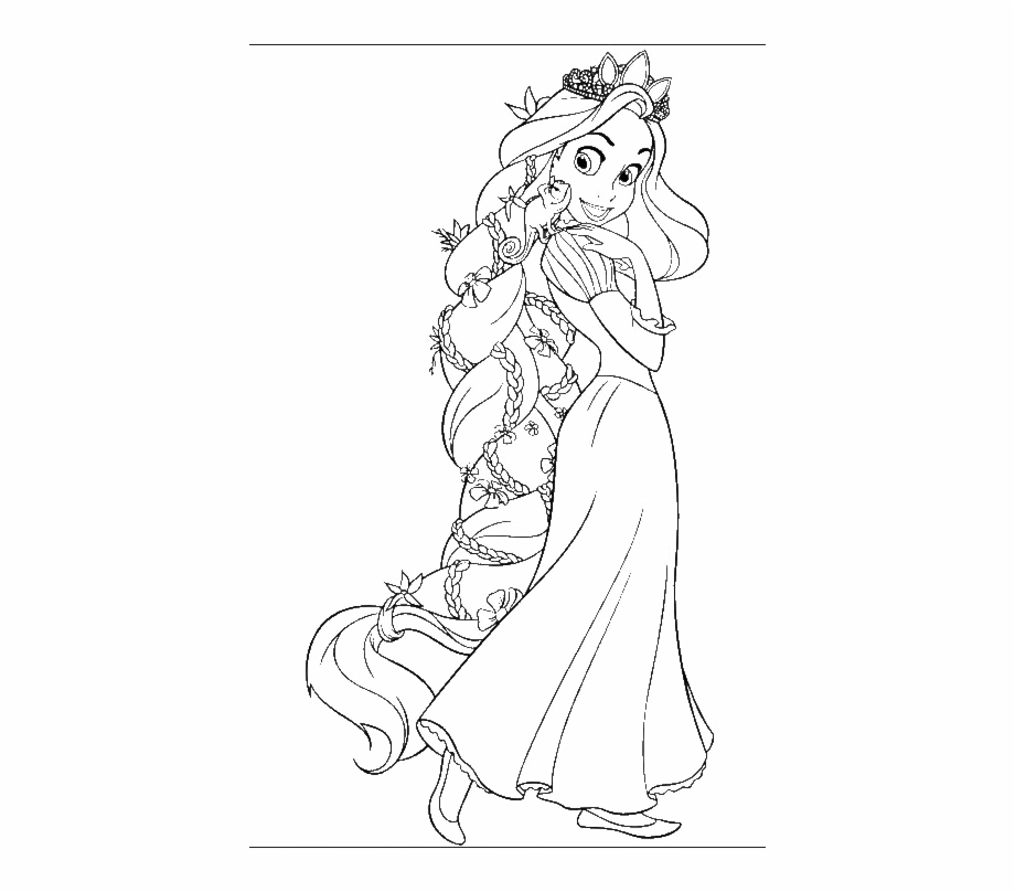 Free Rapunzel Clipart Black And White, Download Free Clip.