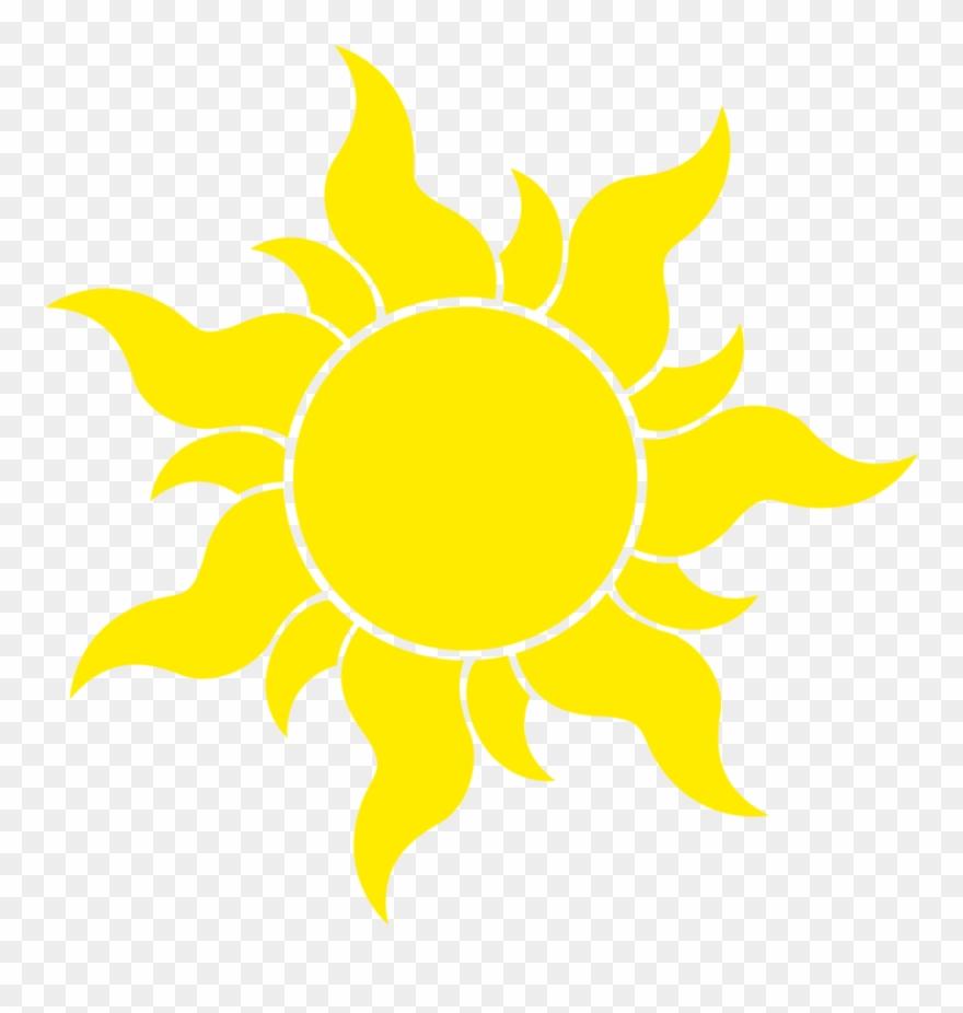 Sun Transparent Background Tangled Sun Symbol Huge.