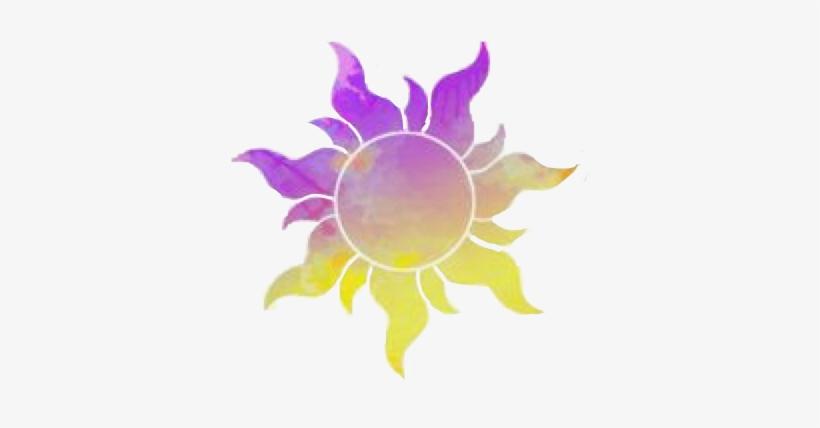 Tangled Sun Transparent PNG.