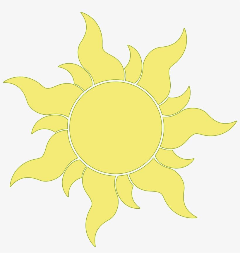 Sun Tangled Clipart.