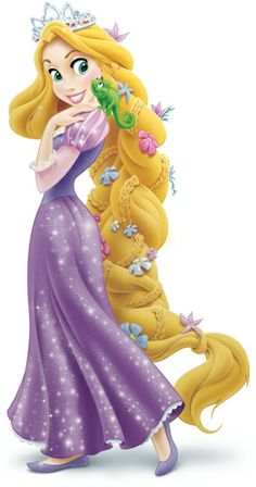 Tangled Dress Clipart.