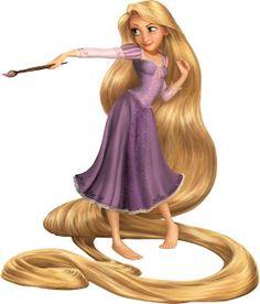 Rapunzel Tangled Clipart.