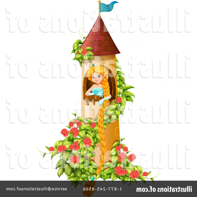 Rapunzel Tower Vector.