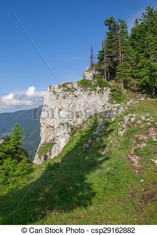 Images de montagnes, rarau, paysage.