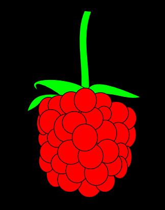 Free to Use & Public Domain Raspberry Clip Art.