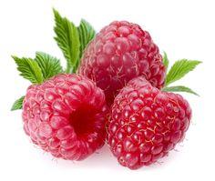 Raspberries Clip Art.