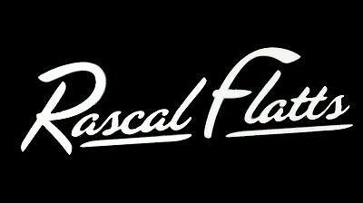 Rascal Flatts Country Music Group Band Vinyl Decal Car.