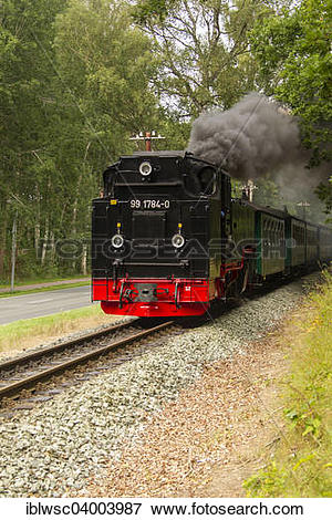 "Picture of ""Rugensche Baderbahn or Rasender Roland narrow gauge."