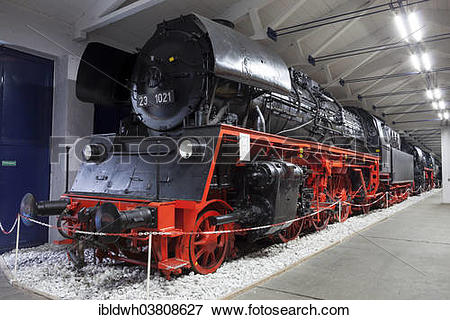 "Picture of ""Steam locomotive 23 1021, Rugen Railway and Technology."