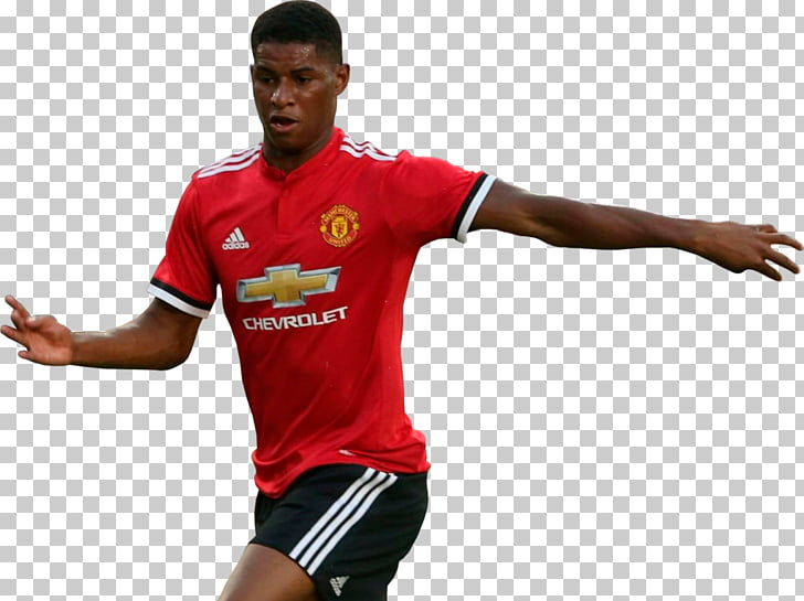 Manchester United F.C. Football player , Marcus Rashford PNG.