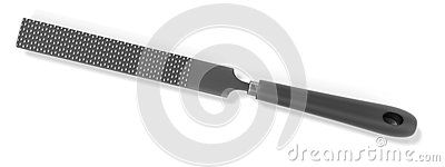 Rasp Tool Stock Illustration.