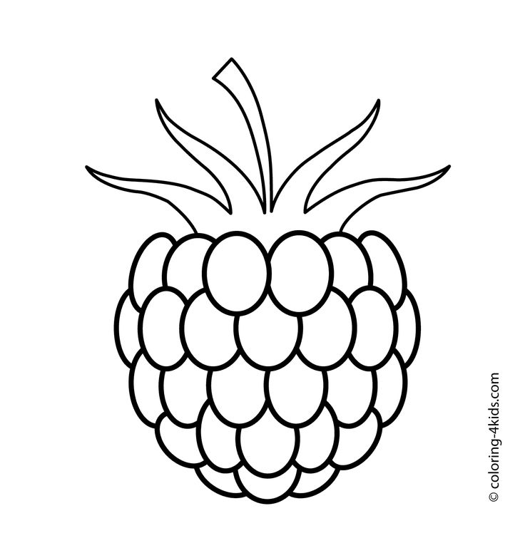 Berry clipart black and white, Berry black and white.
