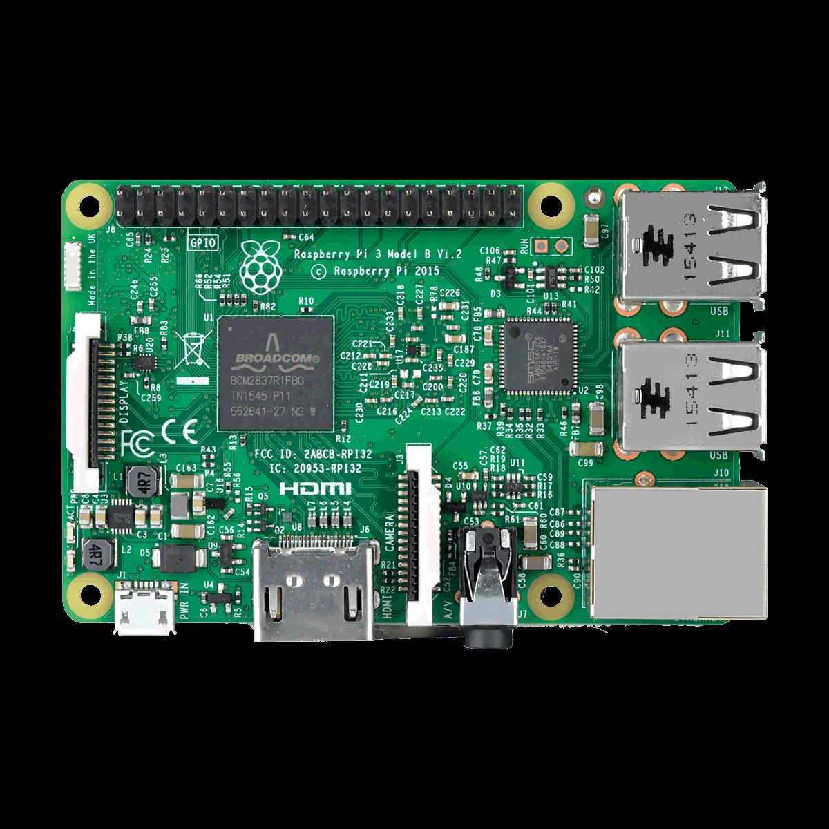 Raspberry Pi 3.