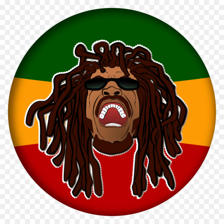 Rastafari Cartoon Illustration Clip Art Openclipar Clipart.