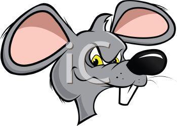 Rat face clipart » Clipart Portal.