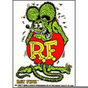 Rat Fink Clipart.