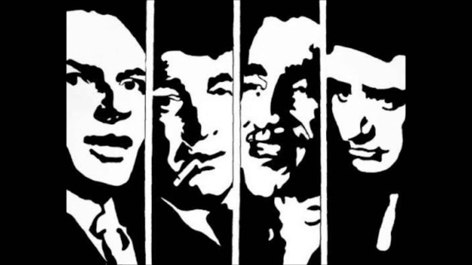The Rat Pack Silhouette.