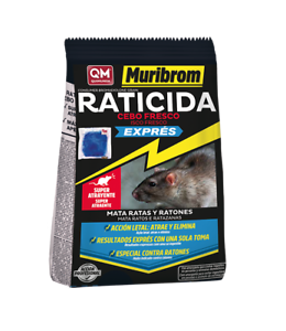 Details about Muribrom Qm Rat Poison Bait Fresh Express Mata Mice and Rats  in a Alone Shot.