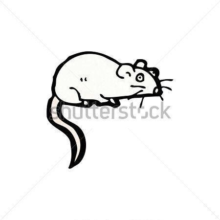 Rata Blanca DE Dibujos Animados imágenes prediseñadas (clip.