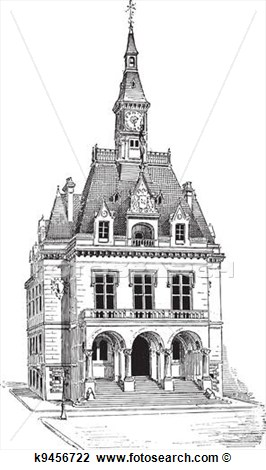 Town Hall Clipart.