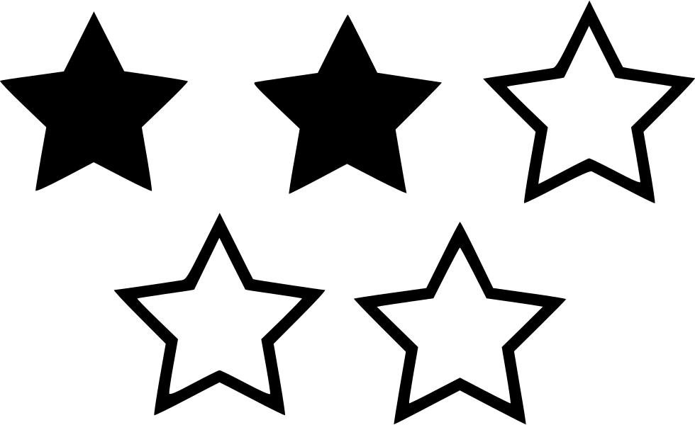 Badges, Four, Rating, Star, Votes Icon.
