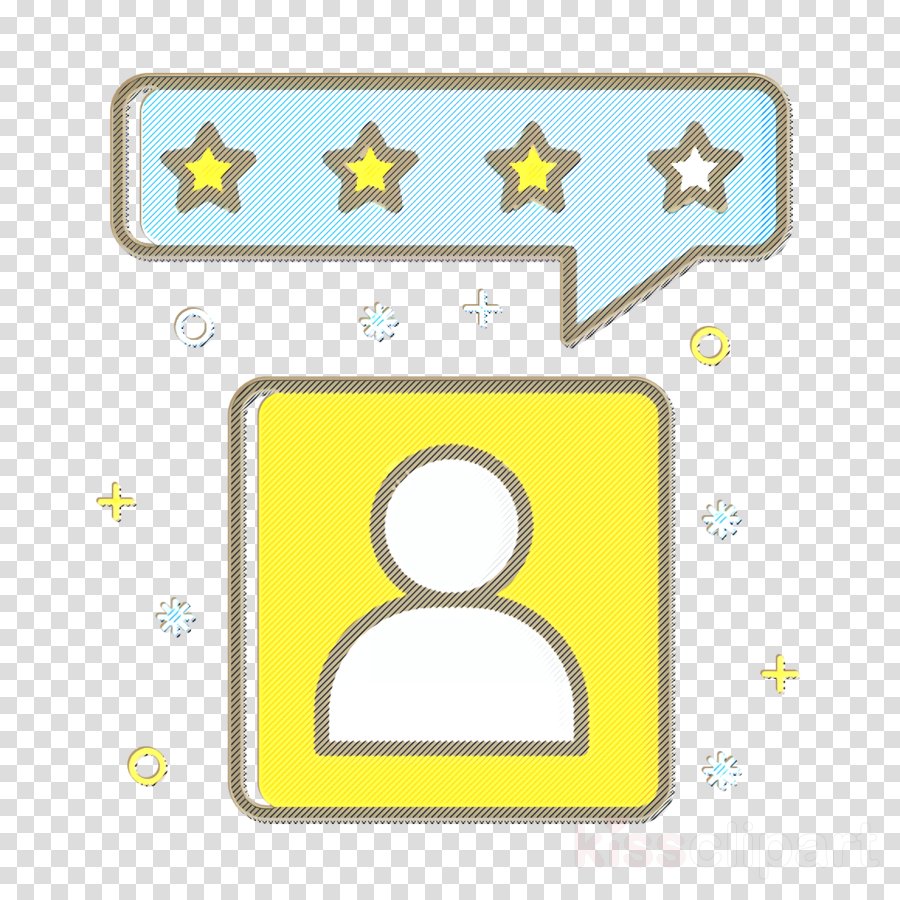 employee icon job icon rating icon clipart.