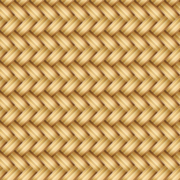 Rattan Texture Clip Art, Vector Images & Illustrations.