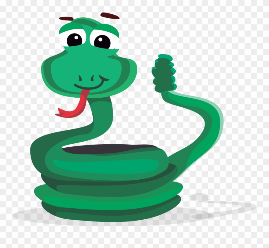 This Cartoon Rattlesnake Clip Art Is Licensed Under.