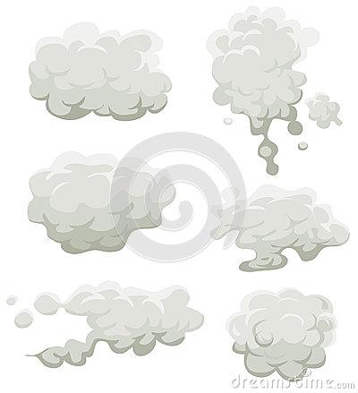 Smoke Stock Illustrations.