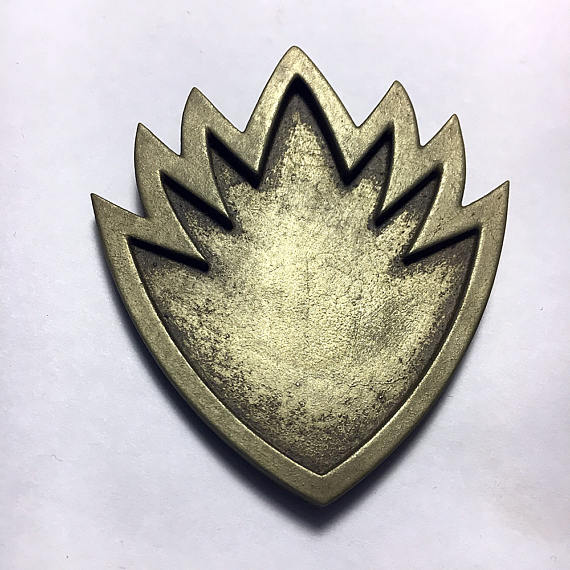 Guardians of the Galaxy Inspired Ravager Prop Badge for.