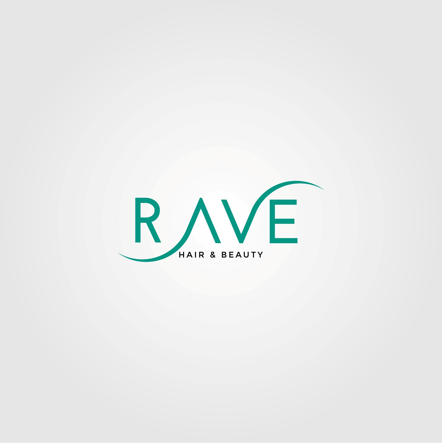 Logo Design for Rave Hair and Beauty by SemangatPagi.