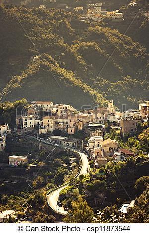 Stock Photo of Ravello, Amalfi Coast, Italy..